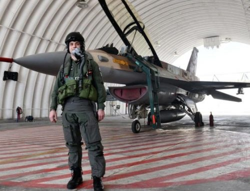 Croatian pilot flies F-16 Barak in Israel
