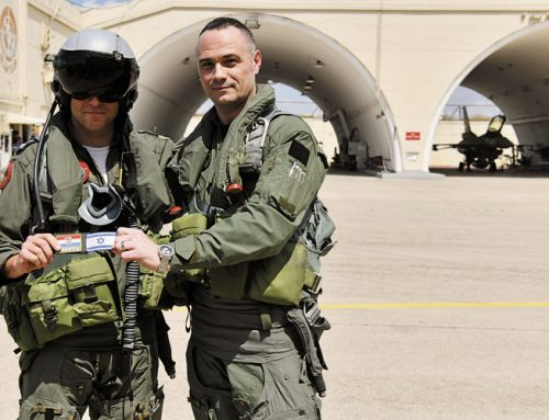 First Croatian pilot to fly the Israeli F – 16